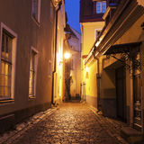 Tallin old town streets Stock Image
