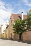 Tallin street Royalty Free Stock Photo