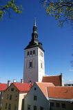 Tallin, tower Nicholas Royalty Free Stock Photo