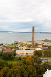 Tallin view with sea Stock Photos