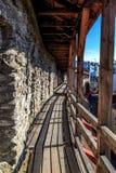 Tallin-Wände Stockfotos