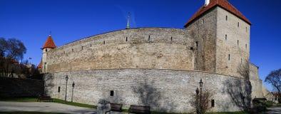 Tallin Walls Royalty Free Stock Image