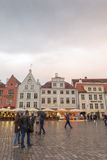 Tallin white nights Royalty Free Stock Images