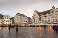 Tallin white nights Royalty Free Stock Photography