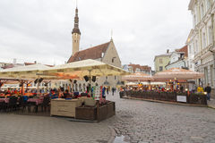 Tallin white nights Stock Photography