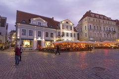 Tallin white nights Stock Images