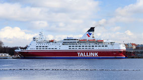 Tallink Cruiseferry Lizenzfreie Stockbilder