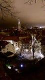Tallinn к ноча стоковые фото