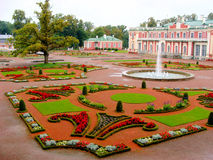 Tallinn. Sculpted gardens at Kadriorg Palace in Tallinn, Estonia Royalty Free Stock Images