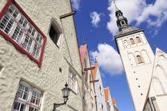 Tallinn. Tallin antique urban building (estonia Stock Photography