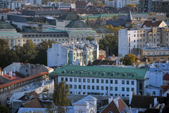 крыши tallinn эстонии Стоковое фото RF