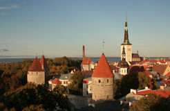 Tallinn Fotografie Stock Libere da Diritti