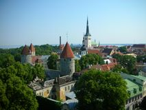 Tallinn Imagenes de archivo