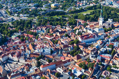 Tallinn from above Royalty Free Stock Image