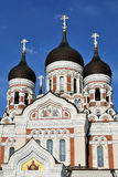 Tallinn, Alexander Nevsky Cathedral Stock Images