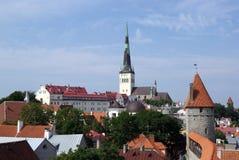 Tallinn. Alte Stadt. Stockbilder