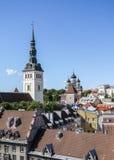 Tallinn - alte Stadt Stockbild
