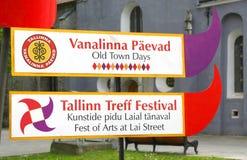 Tallinn-alte Stadttage, 29. Stockfotos