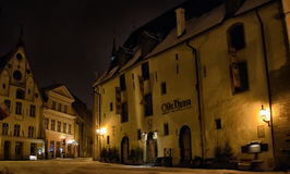 Free Tallinn At Night In Winter Royalty Free Stock Images - 48487559
