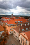 Tallinn autumn tilt-shift Royalty Free Stock Images
