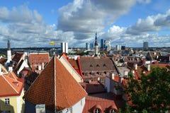 Tallinn. Beautiful view from an observation deck Stock Image