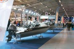 Tallinn Boat Show in Estonian Fairs Center Royalty Free Stock Photo