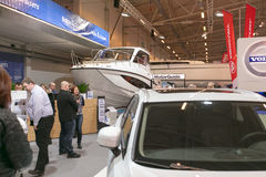 Tallinn Boat Show in Estonian Fairs Center Royalty Free Stock Images