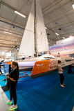 Tallinn Boat Show in Estonian Fairs Center Stock Images