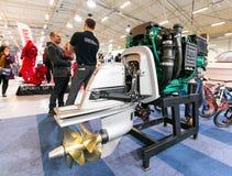 Tallinn Boat Show in Estonian Fairs Center Stock Photo