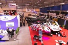Tallinn Boat Show in Estonian Fairs Center Stock Image