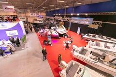 Tallinn Boat Show in Estonian Fairs Center Royalty Free Stock Photography