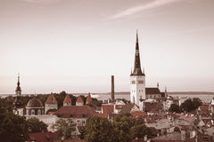 Tallinn - Capital City of Estonia Stock Photo