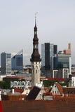 Tallinn - capital de l'Estonie Image libre de droits
