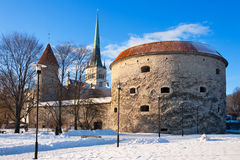 Tallinn - Capital of Estonia Royalty Free Stock Images