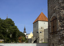 Tallinn. Tallinn - the capital of Estonia . Located on the shores of the Baltic seaР at the entrance to the Bay of the Gulf of Finland Royalty Free Stock Photos