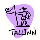Tallinn the capital of Estonia Stock Photos