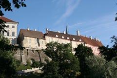 Tallinn - capitale dell'Estonia Immagini Stock Libere da Diritti