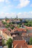 Tallinn, capitel de Estonia, 2014 ywar imagenes de archivo