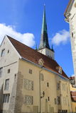 Tallinn, capitel Estonia, ywar 2014 Obraz Stock