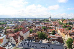 Tallinn, capitel Estonia, ywar 2014 Obraz Royalty Free