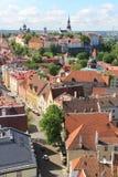 Tallinn, capitel Estonia, ywar 2014 Obrazy Royalty Free