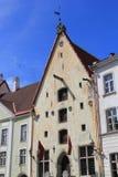 Tallinn, capitel Estonia, ywar 2014 Zdjęcia Royalty Free
