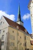 Tallinn, capitel of Estonia, ywar 2014 Stock Image