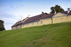 Tallinn Casas em Mary Hill Maarjamae no distrito de Pirita, Tallinn fotos de stock royalty free