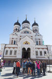 Tallinn cathedral Stock Photography