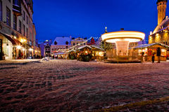 Tallinn christmas market Royalty Free Stock Photography