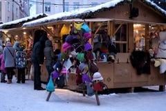 Tallinn Christmas market Royalty Free Stock Images