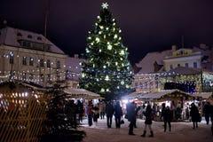 Tallinn Christmas market Royalty Free Stock Photo