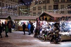 Tallinn Christmas market Royalty Free Stock Photography