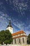 Tallinn church. Old church in the center of Tallinn, Estonia - St. Nicholas or Niguliste Royalty Free Stock Photos